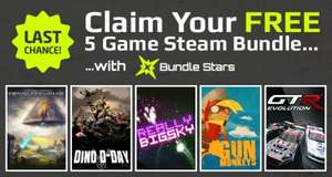 All 5 Steam Games Free Again - Gun Monkeys, Dino D-Day, Really Big Sky, SpaceChem, GTR Evolution @ BundleStars/PC Gamer