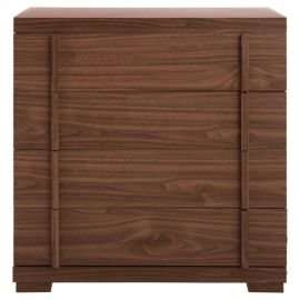 Brandon 4 Drawer Chest, Walnut Effect £27 pounds with £5 OFFCODE: TDX-FTRG at Tesco