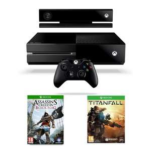 Xbox One Console with Kinect, Titanfall + Assassin's Creed IV £352.99 @ Amazon UK