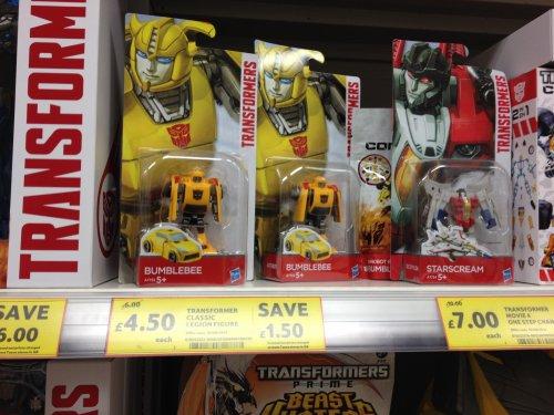Transformers Classic Legion Figures £4.50 @ Tesco instore