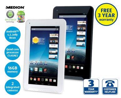 "7"" Tablet PC MEDION® LIFETAB® E7318 on £79.99 @ Aldi"