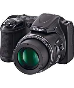Nikon Coolpix L820 30x Zoom 16MP Bridge Camera - Black - now reduced to just £119.99 @ Argos
