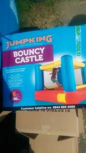 jumpking 6ft bouncy castle £30 @ ASDA in store