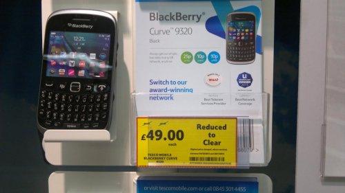 £49 Tesco Mobile Blackberry curve 9320 @ Tesco instore