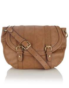 Accessorize Large Cara Plaited Tan Satchel Bag only £9.60 (Students £8.64)! From £32.00 - Free Delivery to Store!