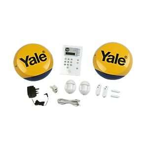 Yale HSA6400 Wireless 4-Room Alarm Kit £199.99 now £129.99, Save £70 this weekend only Screwfix