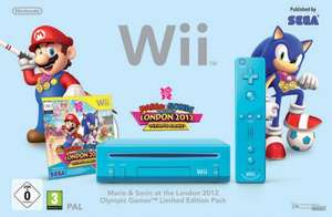 Preowned Blue Wii Console with Mario London 2012 Olympic Games (Wii) £34.99 @ Game