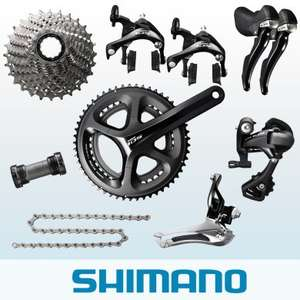 Shimano 105 5800 11-Speed Groupset - £324.99 - Merlin Cycles