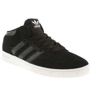 Men's Adidas ciero mid black trainers £23.50 delivered @ Branch309