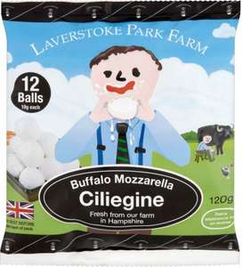 Laverstoke Park Farm Organic Buffalo Mozzarella (125g) was £2.80 now 2 for £3.00 @ Ocado