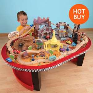 KidKraft Disney Cars Radiator Springs Racetrack Set and Table £99.99 @ costco