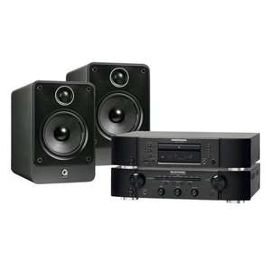 Marantz PM 6005 Amplifier, CD 6005 CD Player and Q Acoustics 2020i Speakers Package £599 @ Sevenoaks - Save £299