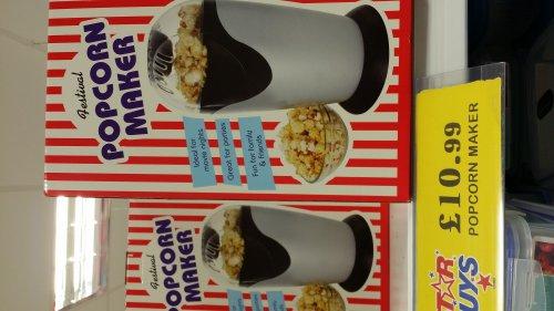 popcorn maker £10.99 home bargains