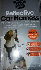 reflective car harness for dog £2.00 @ B&M