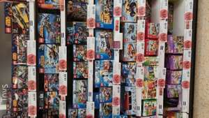 Lot's of Lego reduced by 25% in Sainsbury's