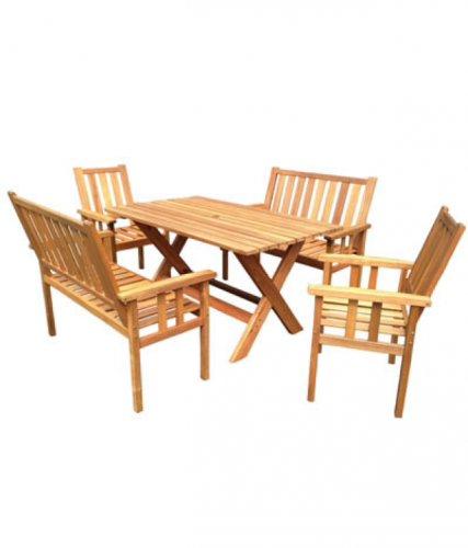 Royalcraft 6 seater hardwood garden table £249 @ countrywidefarmers