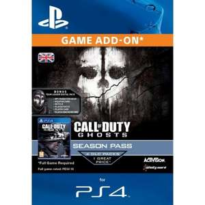 Call of Duty Ghosts Season Pass (PS4) £11.99 Delivered @ 365Games