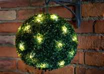 28cm Green Artificial Topiary Ball 20 Leds says £9.99 but I got for £5.99 at B&M Retails