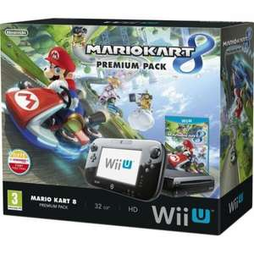 Wii U Mario Kart 8 Premium Pack - 32gb Console & Game @ Sainsbury's INSTORE - £209.99