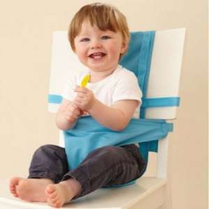 Child chair harness in aqua for only £5 from gro-store.co.uk