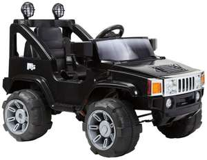 Hummer Jeep Style Kids Ride On with Rechargeable Battery @ Amazon £63.90