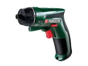 PARKSIDE 7.2V Li-Ion Cordless Screwdriver £19.99 @ Lidl From Monday 11 August