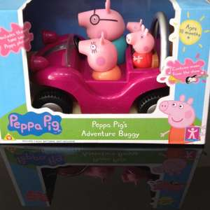 Peppa pig adventure buggy £9.97 @ Asda