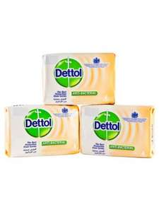 Dettol Anti - Bac. Soap (3x120g) 99p @ 99pStore