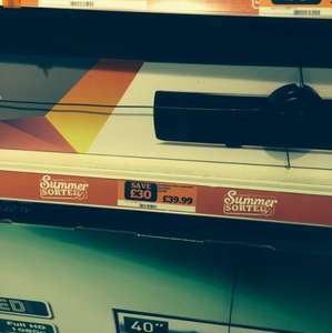 Goodmans Sound Bar 50w of Power £39.99 2.1 @ Sainsburys instore