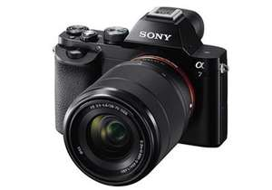 Sony a7 camera with 28-70mm lens £999 at DigitalRev