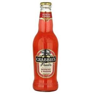 Crabbies Rhubarb & Raspberry £1 a bottle in Morrisons
