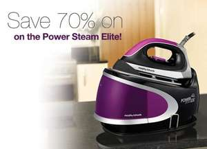 70% off Morphy Richards 42223 Power Steam Elite Steam Generator Iron RRP £299 now £90.00 @ Morphy Richards