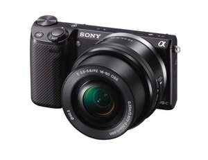 Sony NEX5TL Compact System Camera with SEL1650 Lens Kit - Black (16.1MP) - £269.99 @ Amazon (Deal of the day, lowest ever price on Amazon)
