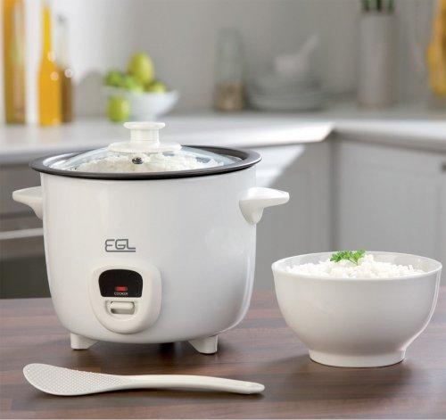EGL 1 Litre Rice Cooker - White £9.99 @ 24Studio