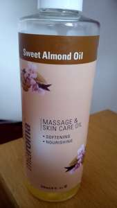236ml Miaroma Sweet Almond Oil (massage&skincare oil) £5.89 & get1for1penny @ hollandbarret
