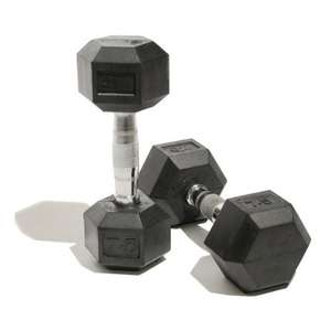Bodymax Rubber Hex Dumbells (One Pair) 2x20kg £26.67 @ Amazon