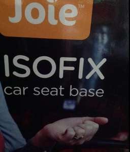 Direct2Mum: Best deal on Joie Isofix and belted version car seat bases £45