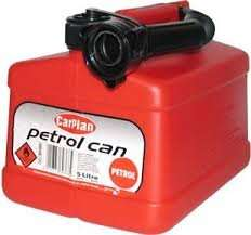 CarPlan Red or Black Fuel Can  5 Litre for £2.50 @ B&M Stores instore