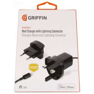 Griffin mains apple lightning charger £9.99 @ B&M instore