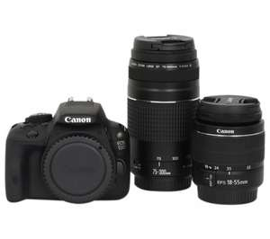Canon EOS 100D 'Get Closer' package - includes 18-55mm and 75-300mm lenses £430 @ Jessops instore