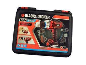 Black & Decker Multi Evo 14.4V Multitool Starter Kit £19 instore B&Q
