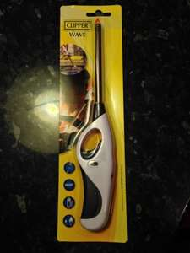 Clipper Wave Utility Lighter scanning at 50p instore ASDA
