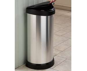 Curver one-touch bin was £55, now just £14.85 with code FV39 @ Debenhams. Free C&C
