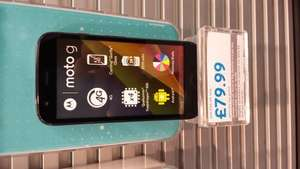 Motorola Moto g 4g for £79.99 + £10 top up at EE from 08/08