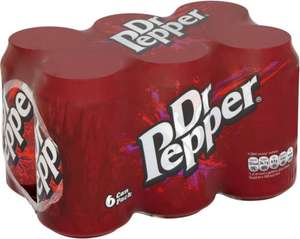 Dr Pepper & Dr Pepper Zero (6x330ml) was £3.49 now (BOGOF) @ Morrisons