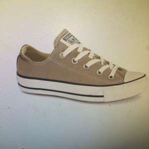BASEFASHION Gold and Pink Converse all star low trainers 50% off - Were £45 Now £22.50 @ Base Fashion