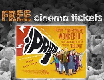 2 Free Cinema Tickets (Pride 2014) @ Studentmoneysaver