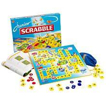 Junior Scrabble on £8.24 (free C+C) or £3 post at John Lewis