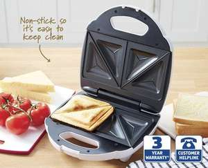 Sandwich toaster down to £3.99 from £7.99 @ Aldi. 14/08