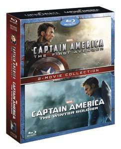 Captain America: The First Avenger & Captain America: The Winter Soldier - Double Pack (Blu-ray) @ Amazon - £19